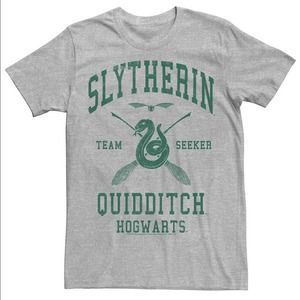 Harry Potter Slytherin Team Seeker Text Tee